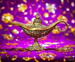 aladdin, photography, and torch image