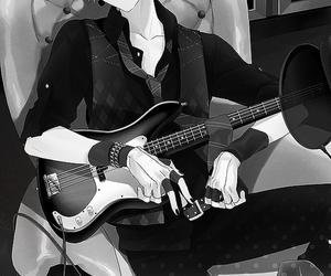 anime, guitar, and manga image