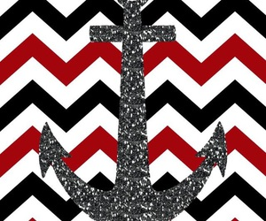 wallpaper, anchor, and chevron image
