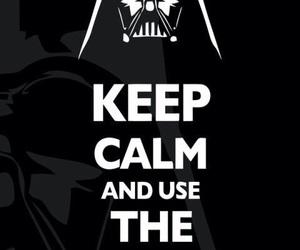 keep calm, star wars, and darth vader image