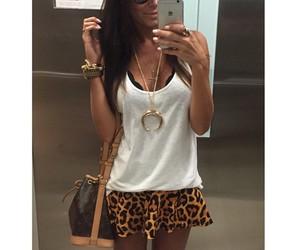 bag, iphone, and skirt image