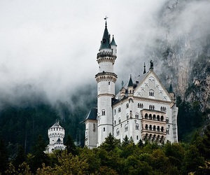 castle, nature, and germany image