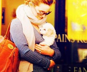 emma watson, cute, and dog image