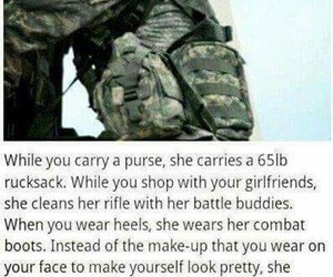 quotes, soldier, and funny image