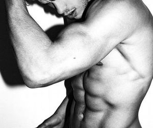 abs, guys, and handsome image