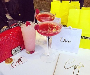 dior, drinks, and luxury image