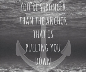 quote, strong, and anchor image