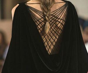 black, Valentino, and dress image