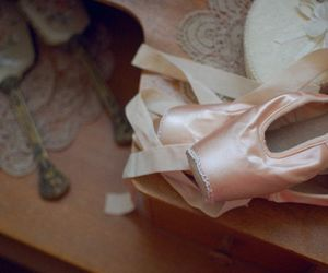 ballet, ballet shoes, and ballet slippers image