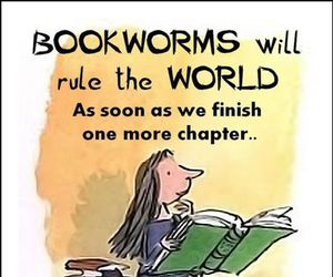 book, bookworm, and funny image