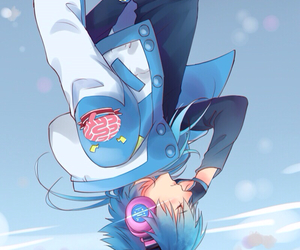 blue hair, videogame, and aoba image