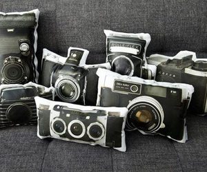 camera and pillow image