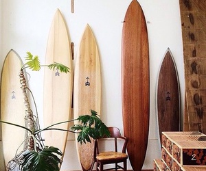 surfboard, surf, and summer image