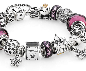 bracelet, jewelry, and charms image