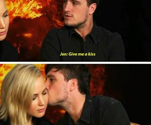 joshifer, Jennifer Lawrence, and the hunger games image