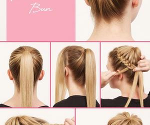 ballerina, bun, and beauty image