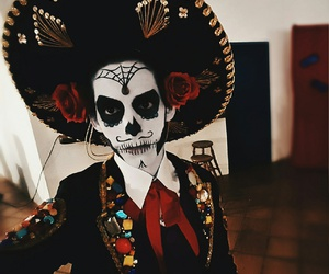 Halloween, mexico, and muerte image