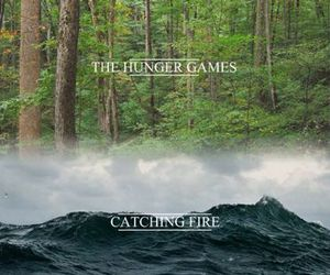 the hunger games, book, and thg image