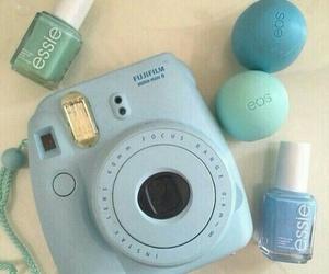 blue, eos, and essie image