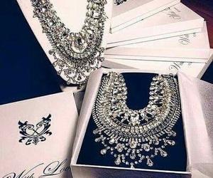 diamond, luxury, and necklace image