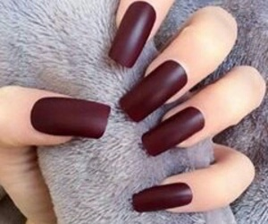 nails, red, and beauty image