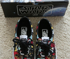 star wars, vans, and shoes image