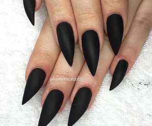 133 Images About Black Nails Black Nailart On We Heart It See