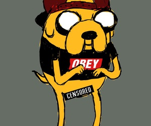 swag, obey, and adventure time image