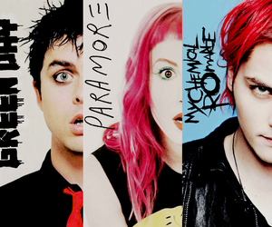 green day, my chemical romance, and paramore image