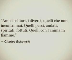 charles bukowski, frasi italiane, and frasi image