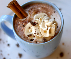 hot ​chocolate, chocolate, and drink image