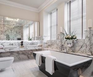 house, bathroom, and beautiful image