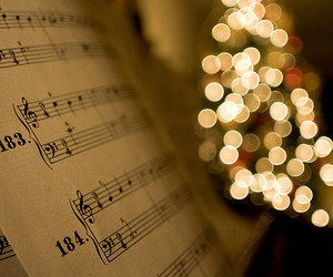 christmas, music, and light image