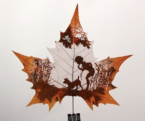 art and leaves image