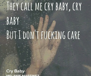 cry baby, music, and melanie martinez image