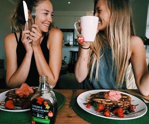food and smile image