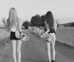 fun, skate, and besties image