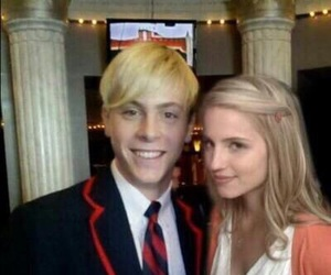 glee and riker lynch image
