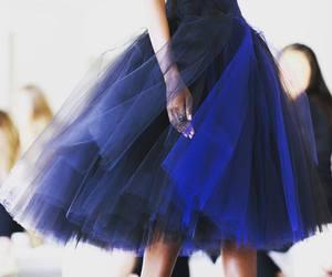 blue, dress, and skirt image