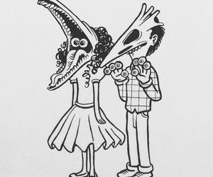 beetlejuice and grunge image