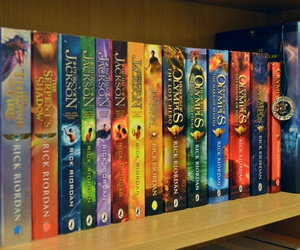 books, percy jackson, and heroes of olympus image