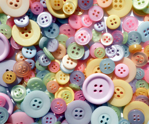 beautiful, sew, and buttons image