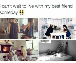 best friends, goals, and love image