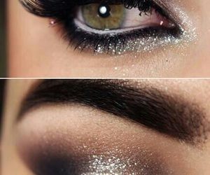 chanel, eye lashes, and naked image