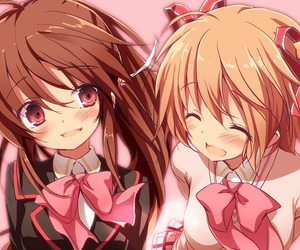 friendship, little busters!, and cute image