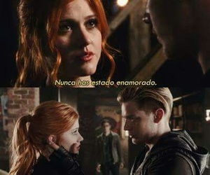 shadowhunters, clary fray, and books image