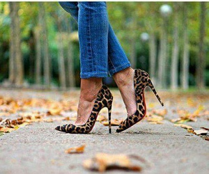chic, fashion, and high heels image