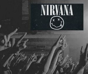 nirvana, music, and concert image