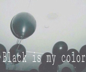 black, grunge, and color image