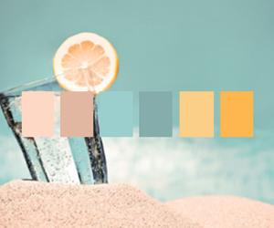 beach, fresh, and sun image